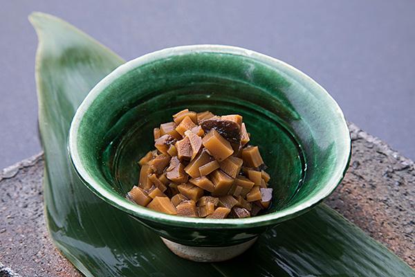 どんこ椎茸と筍の山椒煮