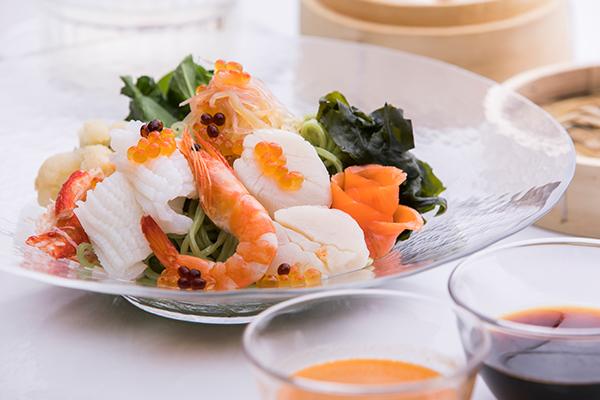 藍海スタイル「海の幸 冷麺」