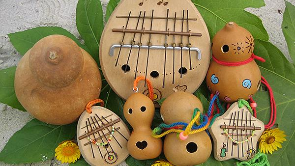 ひょうたん楽器を作ろう