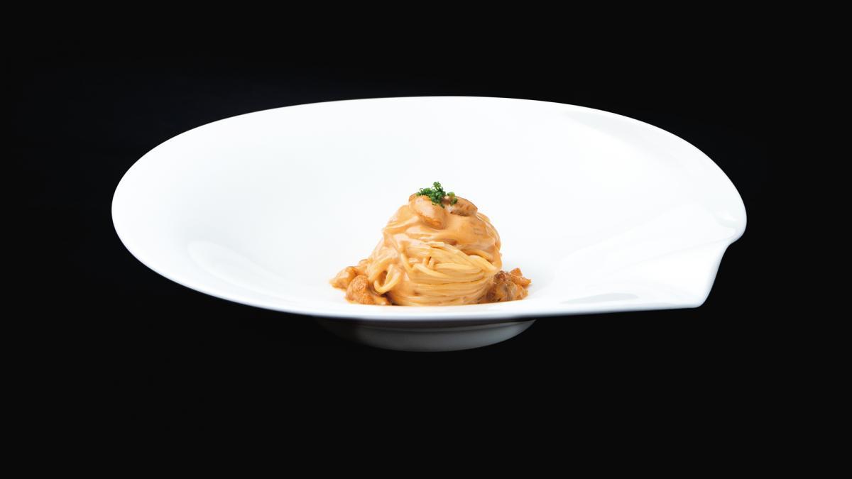 ウニのクリームソーススパゲッティ