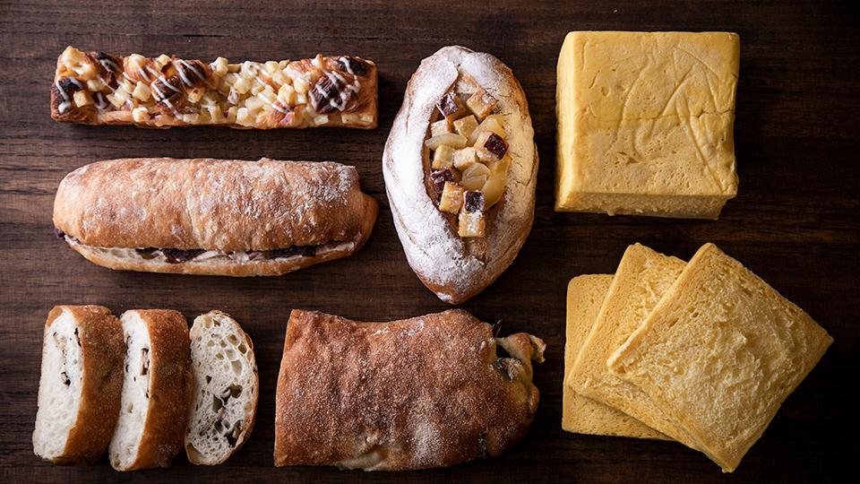 秋の収穫祭パン