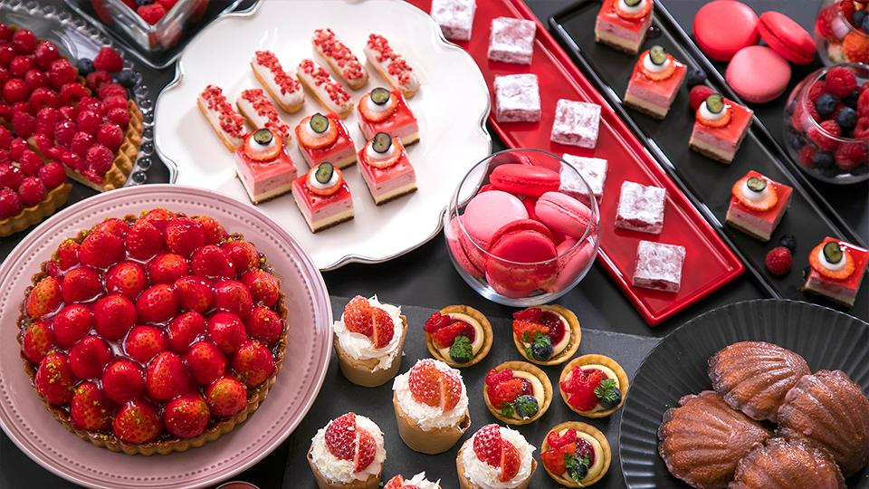 Sheraton Sweets Buffet「Very Very Berry」