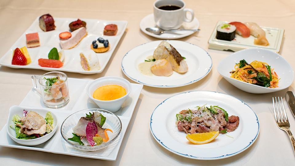 【朝食・夕食1回・スイーツプレート付】4月限定!連泊がおトク