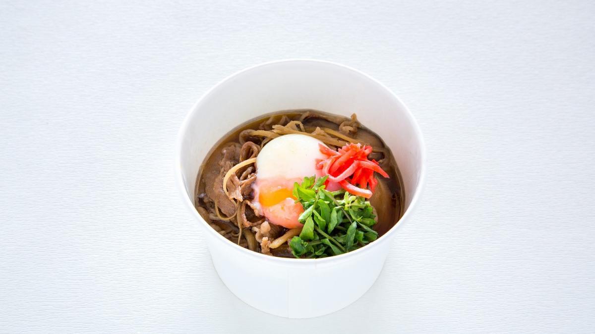 四季乃の宮崎牛のすき焼き風丼