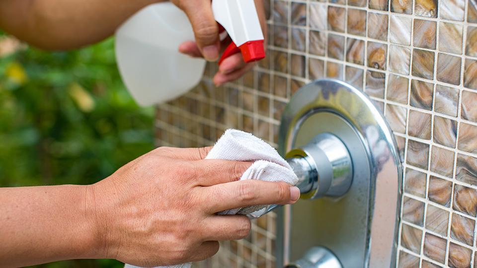 シャワーの消毒