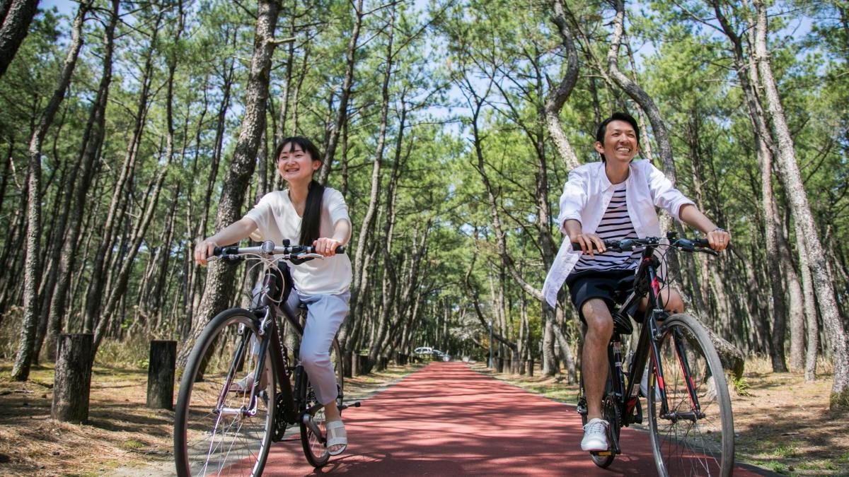 爽快サイクリング(レンタサイクル)