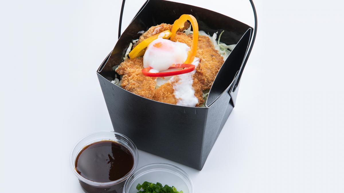 宮崎ブランドポークのヒレ味噌カツ丼