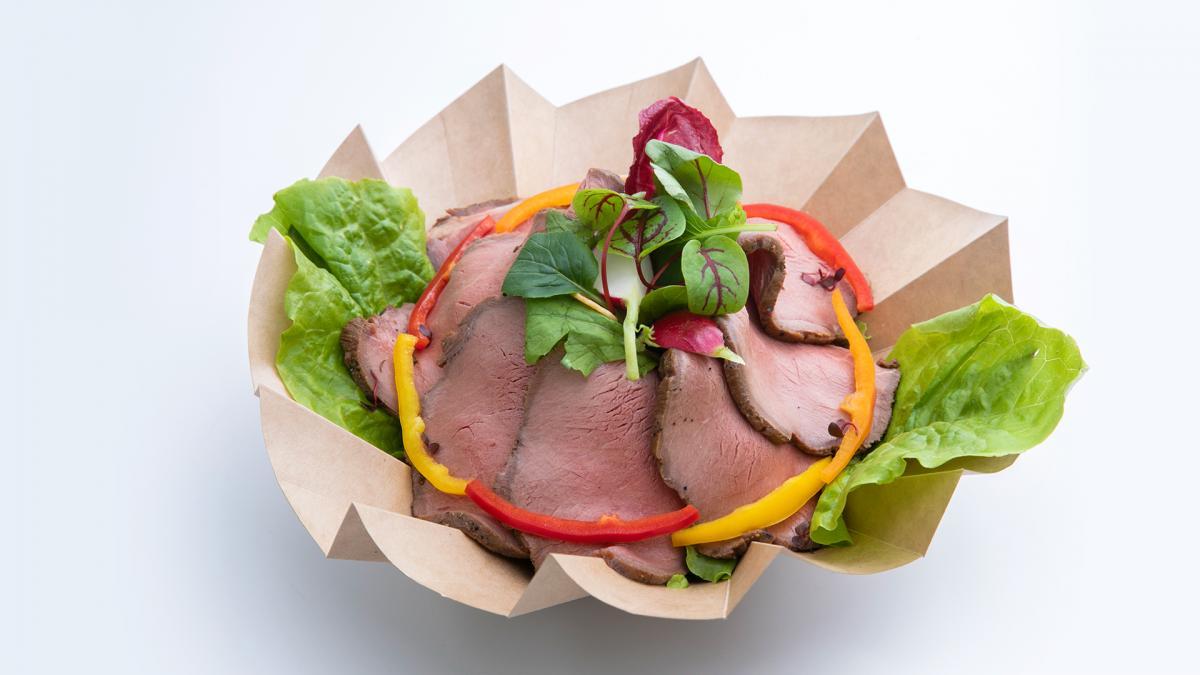 宮崎牛ローストビーフサラダ