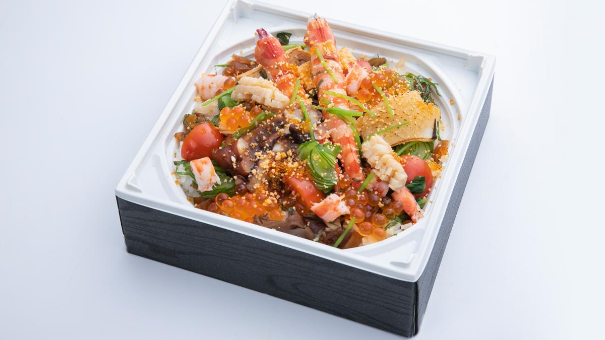 八潮特製 彩り豊かなバラ散らし寿司