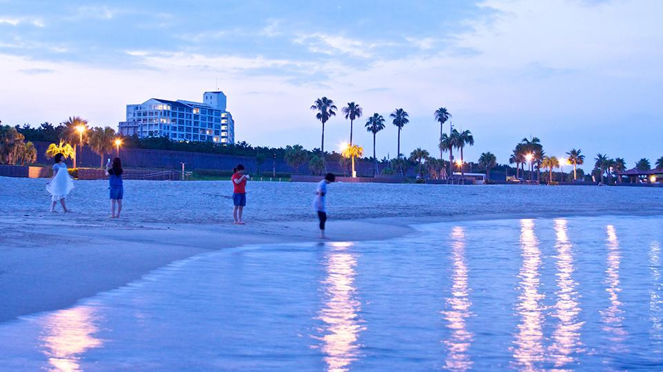 マリンスポーツにBBQ!みやざき臨海公園 「サンビーチ 一ツ葉」