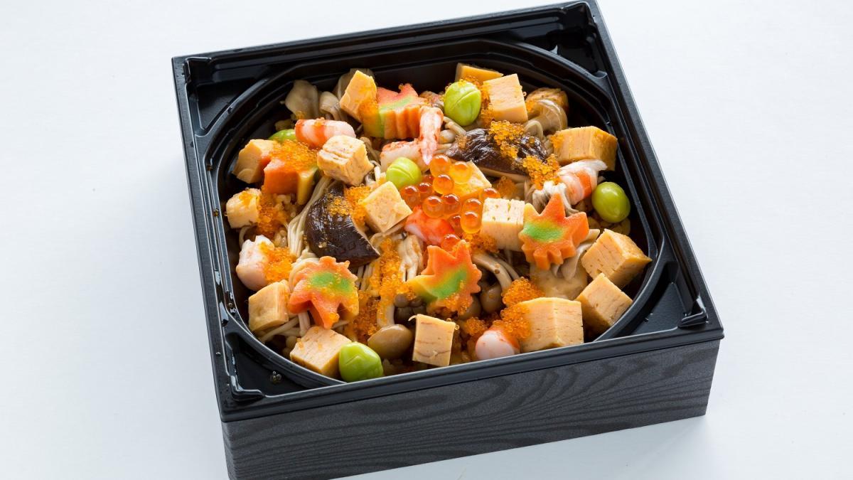 秋の味覚を愉しむ バラ散らし寿司