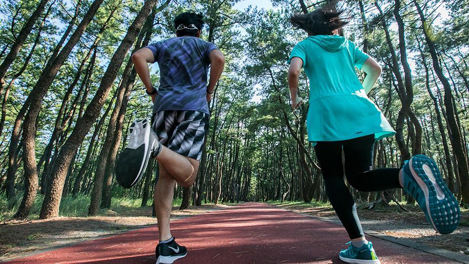 ジョギング&ウィーキングコース