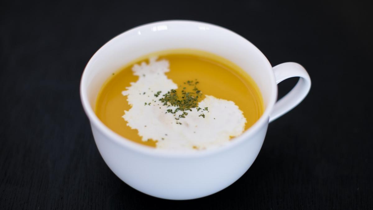 季節のスープ「かぼちゃのスープ」