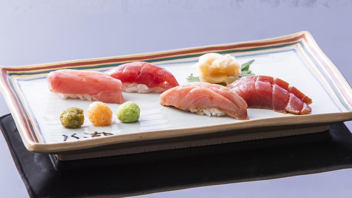 変わり鮪 握り寿司4貫