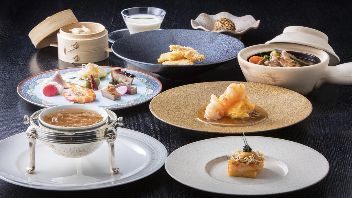 渾身の中国料理コース