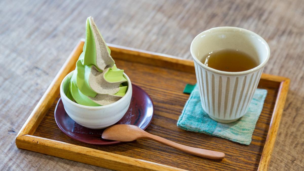 夢茶房のお茶体験【お茶の焙煎に挑戦しよう】