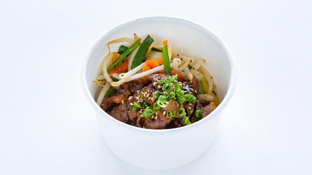宮崎牛の味噌ダレ焼肉丼