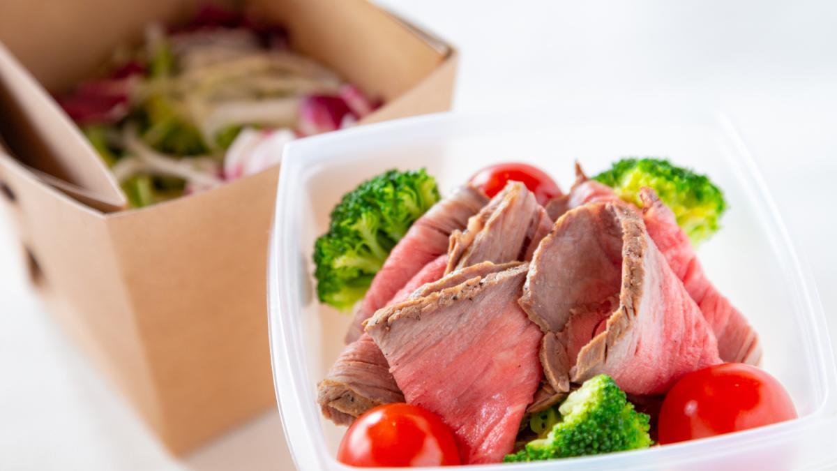 宮崎牛のローストビーフサラダ