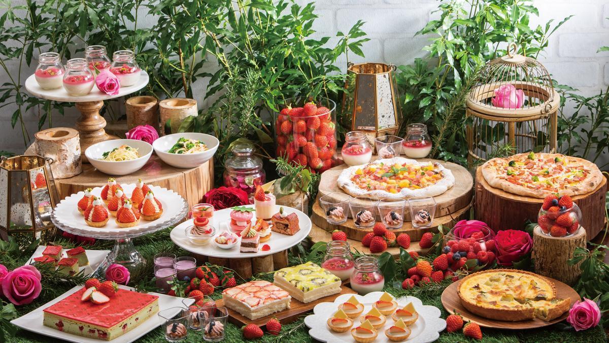 春のスイーツビュッフェ開催 Sheraton Sweets Buffet「Very Very Berry」