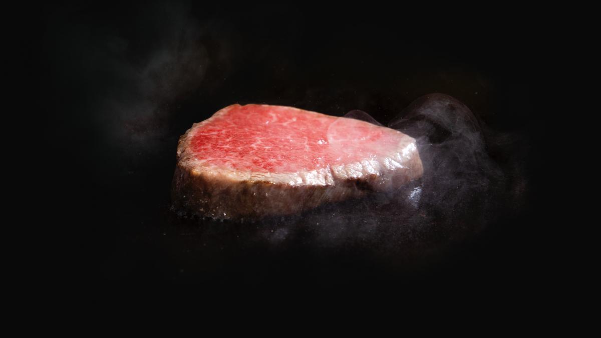 鉄板焼「ふかみ」宮崎牛ステーキ