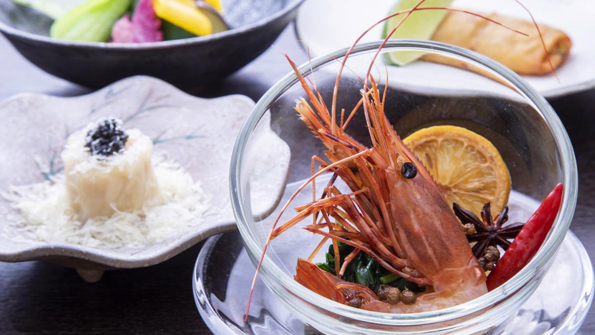 渾身の中国料理コース 藍海