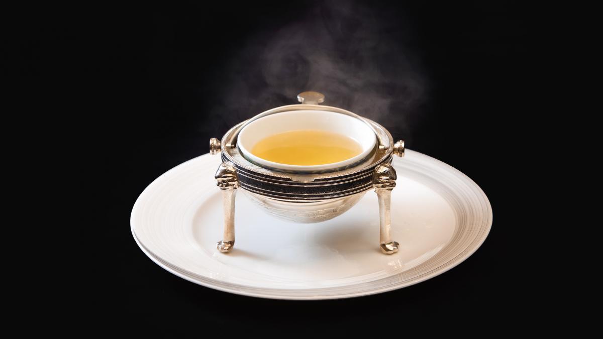 中国料理「藍海」 金の上湯スープ