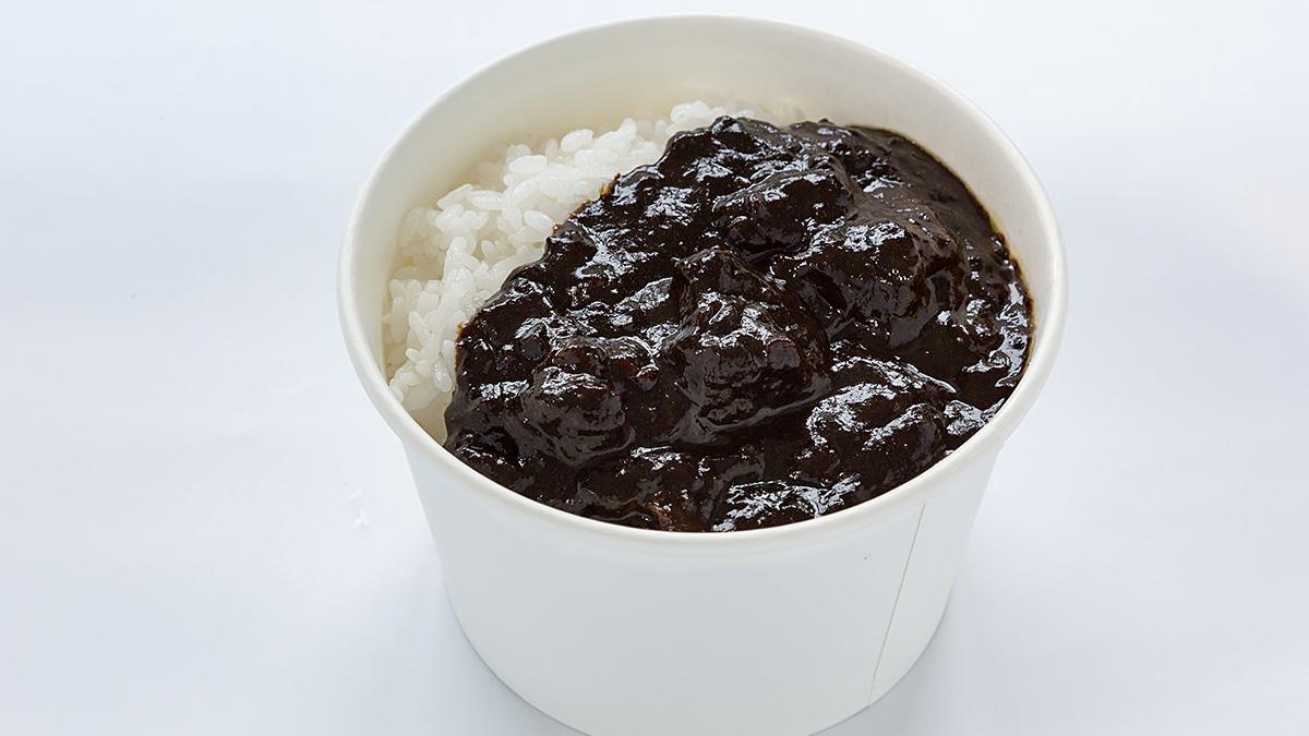 宮崎牛の黒カレー