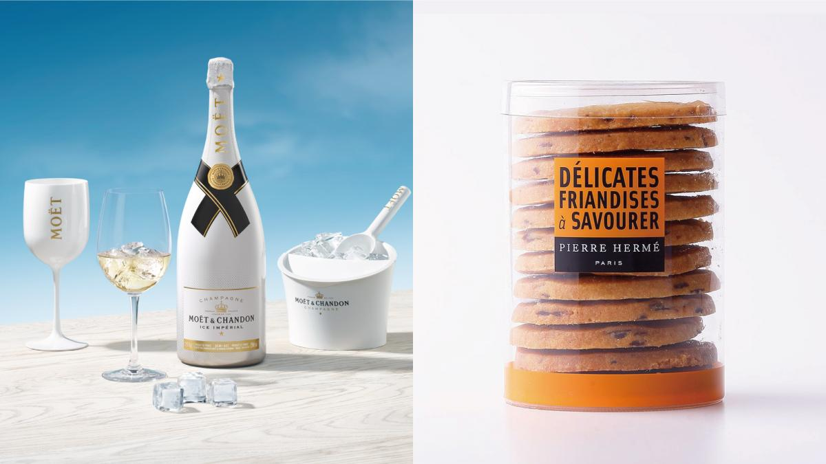 夏限定の特別なシャンパンとサブレを楽しみながらシェラトンのてっぺんから花火を見下ろすプラン