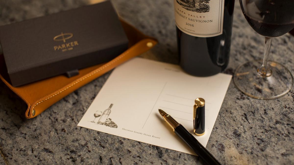 ワインとお手紙