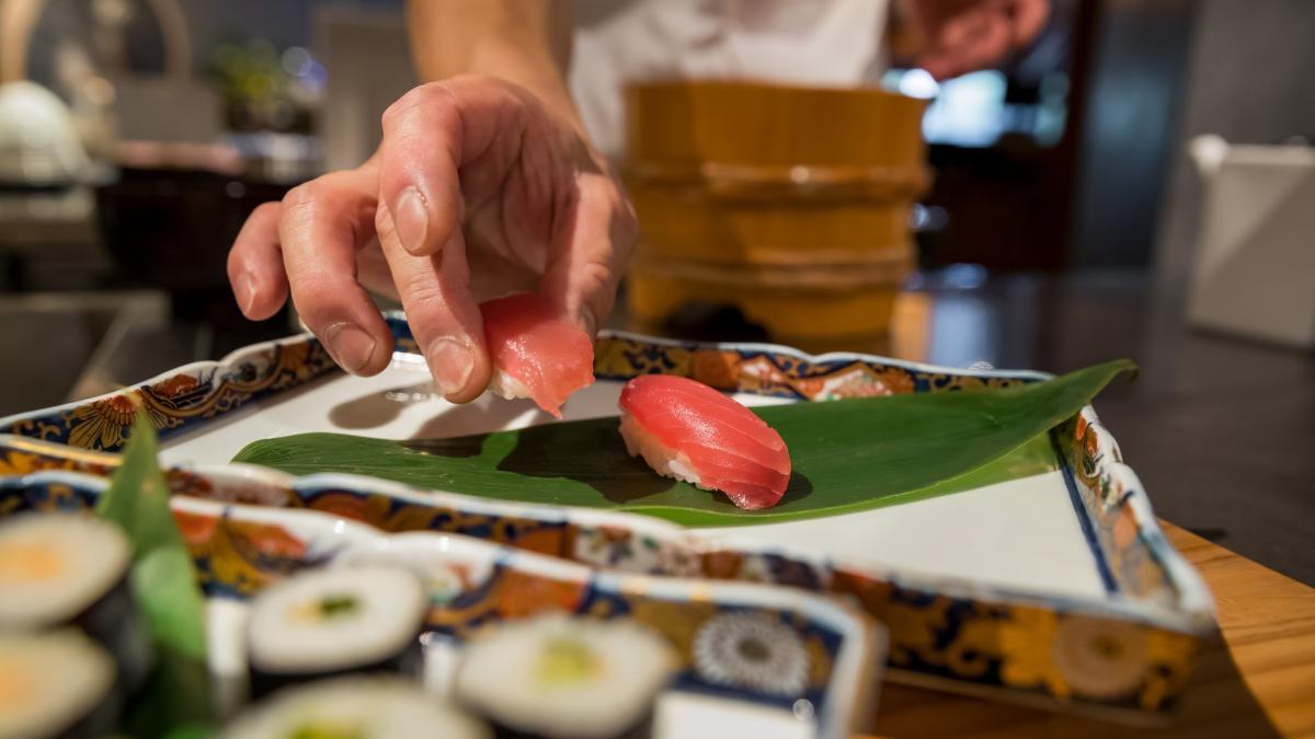 シェフアクション 寿司