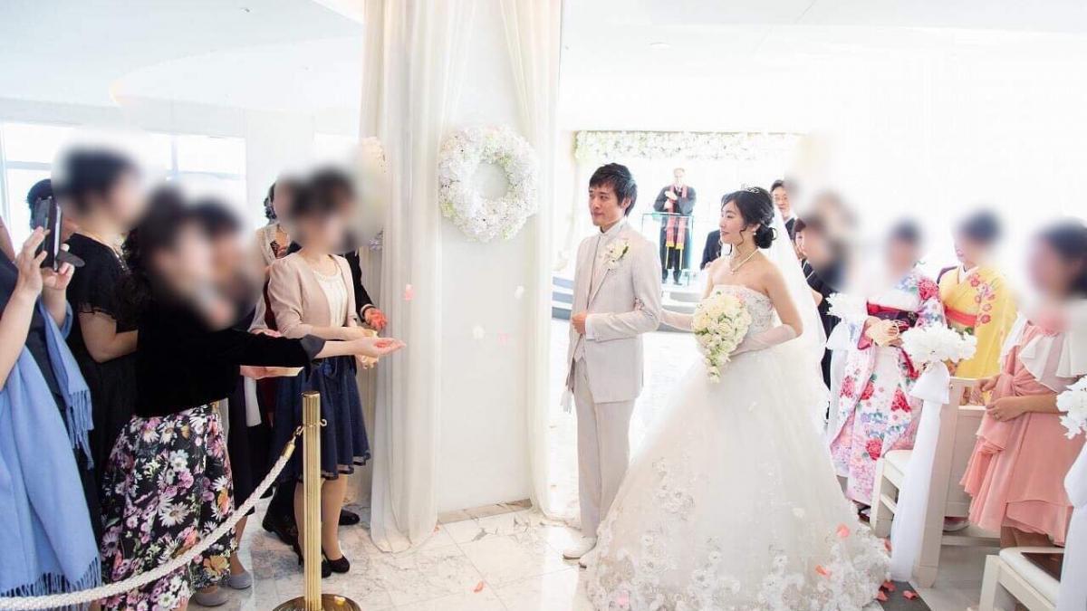 久保田 力・瑠璃様挙式