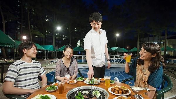 コテージ・ヒムカ プールサイドBBQ