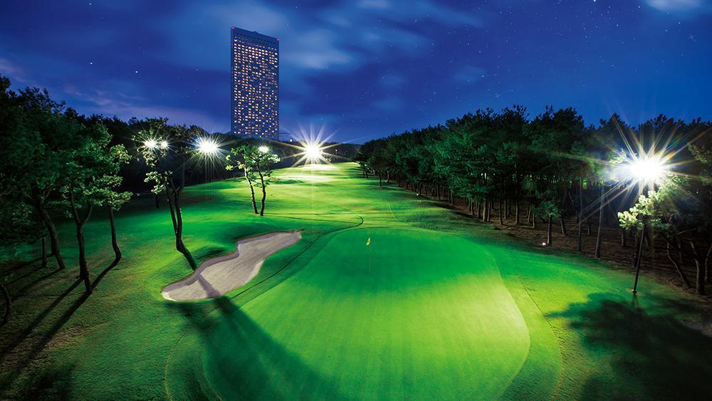 トム・ワトソンゴルフコースのホシゾラゴルフ