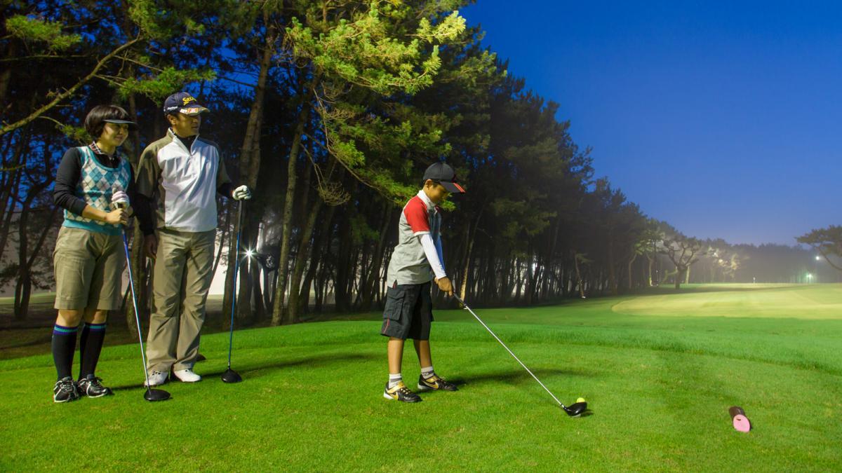 ナイトゴルフ体験