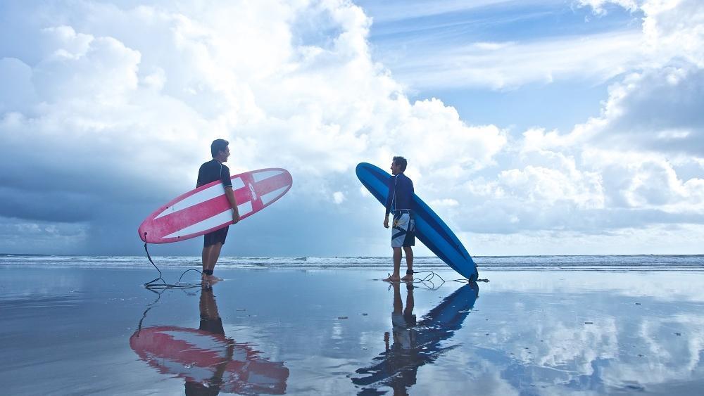 サーフィンスクール体験