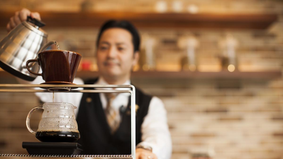風待ちテラスハンドドリップコーヒー