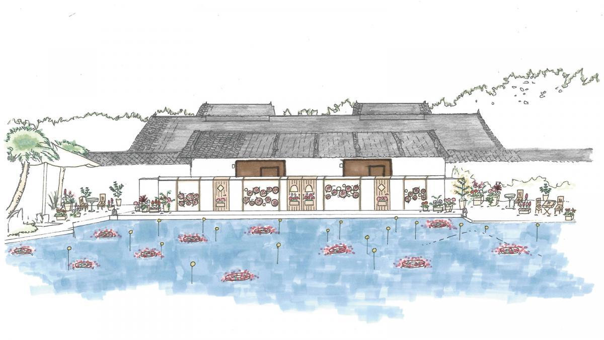 「南九州大学」が手がけた造園デザイン
