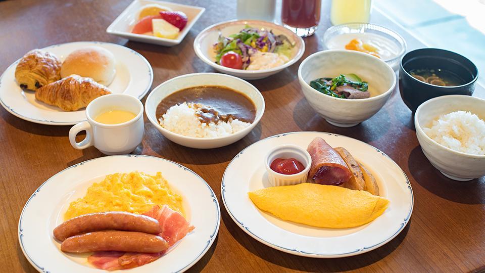 朝食提供方法変更