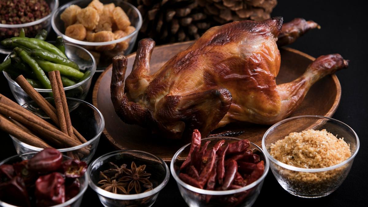 中国料理「藍海」 クリスマス ローストチキン