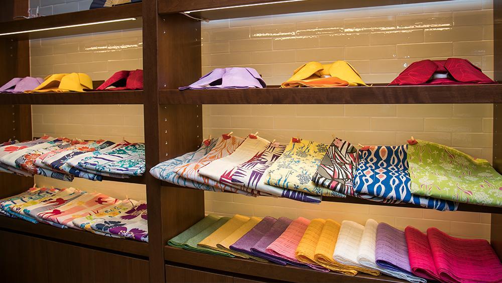 色浴衣&和傘レンタル