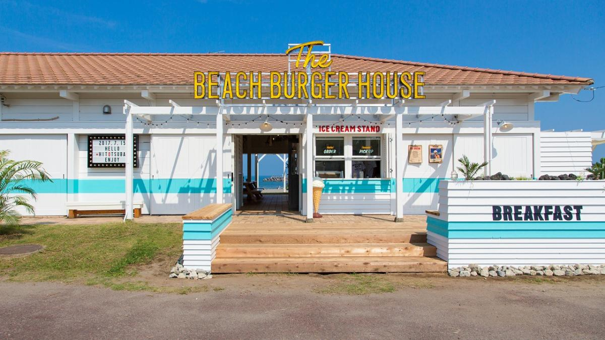 The BEACH BURGER HOUSE宮崎県産マンゴーバーガー