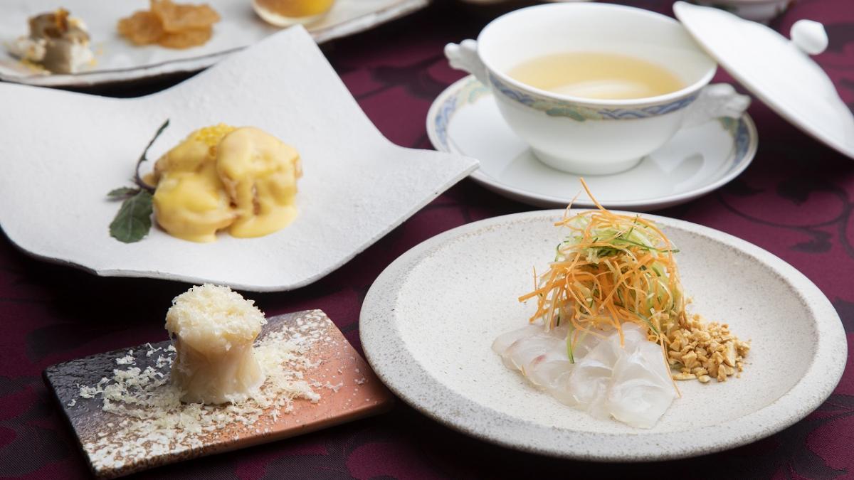 【1泊5食プラン限定】渾身の中国料理コース