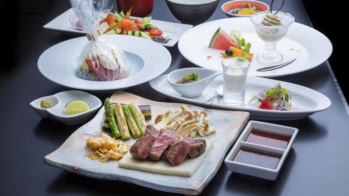 ふかみ【1泊5食プラン限定】鉄板焼きディナーコース