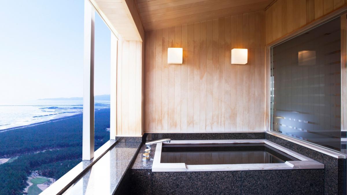 和室スイート貴賓室バスルーム