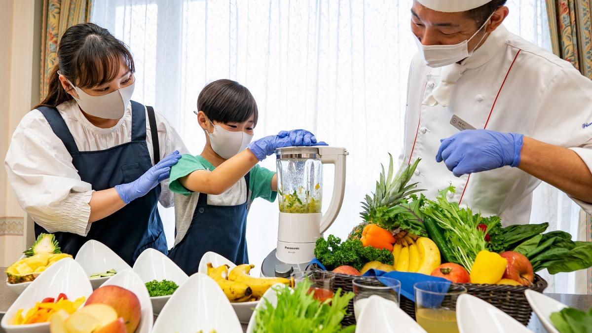 ベジレッスン ~宮崎シーガイアで楽しく学ぶ野菜時間~