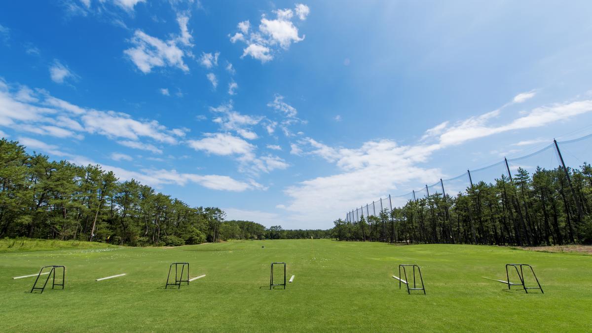 ゴルフアカデミー練習場