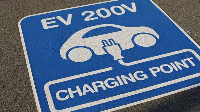 電気自動車充電